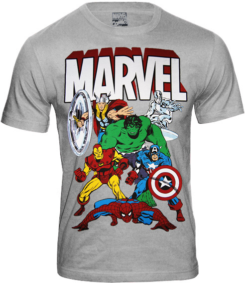 marvel comics retro herren t shirt marvel allstars kaufen
