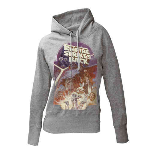 Star Wars Girlie Kapuzenpullover EMPIRE STRIKES BACK