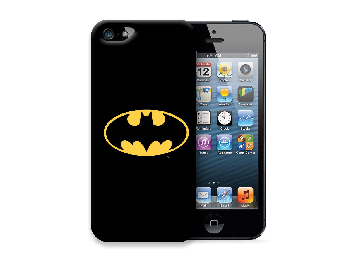 iphone 4 4s cover case schutzh lle tasche batman logo kaufen. Black Bedroom Furniture Sets. Home Design Ideas