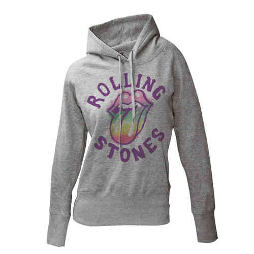 The Rolling Stones RAINBOW TONGUE Frauen Kapuzenpullover