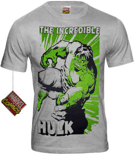 original Marvel Comics HULK SMASH Herren T-Shirt