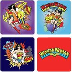 Original DC Comics Wonder Woman Untersetzer Coaster Set