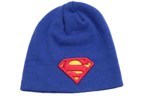 Original SUPERMAN Mütze Beanie SUPERMAN LOGO