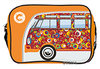 VW Bulli T1 Tasche On The Road Since 1950 Quer Orange