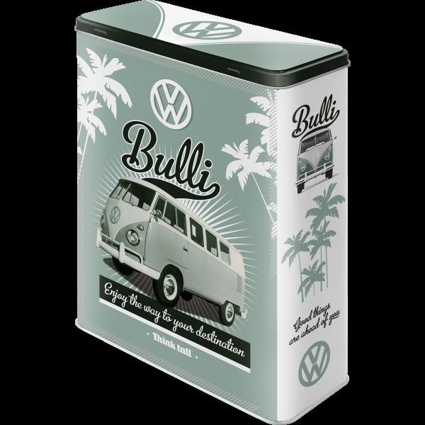 vw bulli t1 t2 samba bus vorratsdose blechdose xl kaufen. Black Bedroom Furniture Sets. Home Design Ideas