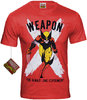 Marvel Comics X-Men WOLVERINE WEAPON Herren T-Shirt