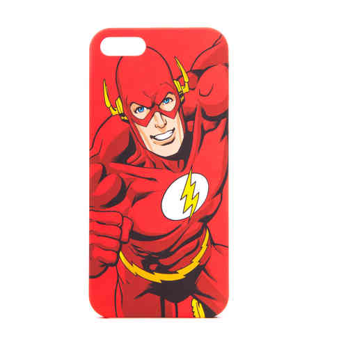 IPHONE 5 Cover Case Schutzhülle Tasche FLASH CHARAKTER