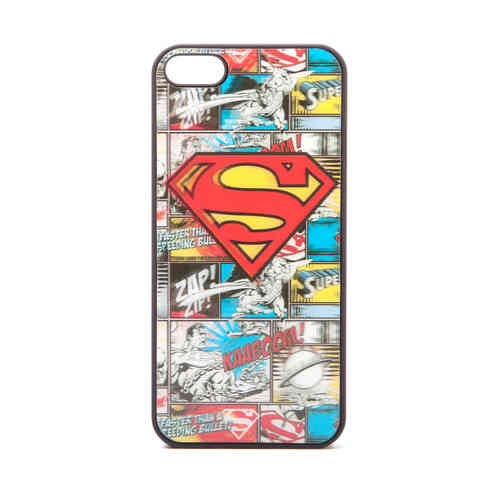 IPHONE 5 Cover Case Schutzhülle SUPERMAN LOGO 4D HOLOGRAMM
