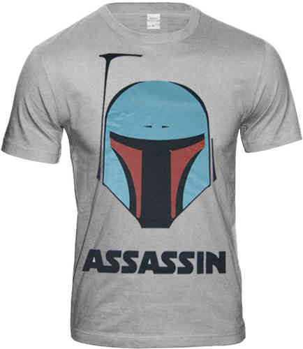 Star Wars BOBA FETT ASSASSINS Herren T Shirt