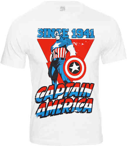 Marvel Comics CAPTAIN AMERICA SINCE 1941 Herren T-Shirt