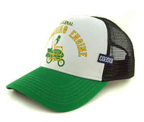 COASTAL 80er Retro Trucker Mesh Cap SEARCHING ENGINE