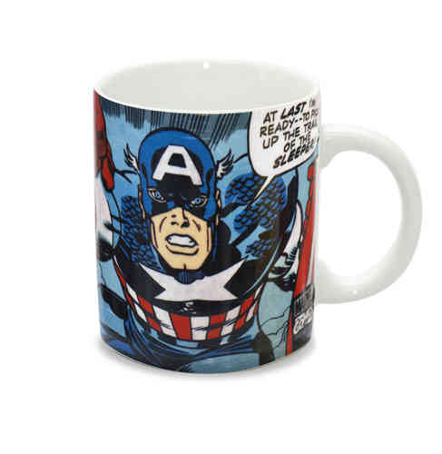 Marvel Captain America CAP GOES WILD Tasse Kaffeebecher