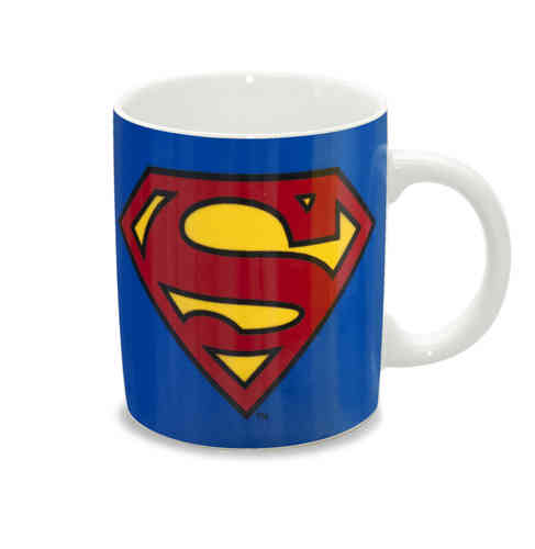 Marvel Comics Superman LOGO LS Tasse Kaffeebecher