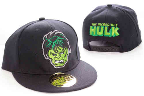 Marvel Comics The Incredible Hulk FACE Flat Snapback Cap