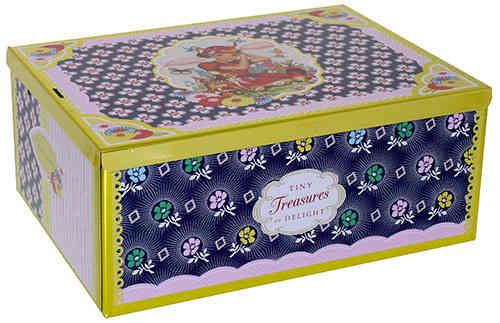 Cotton Candy Nostalgie TINY TREASURES Box Blechdose
