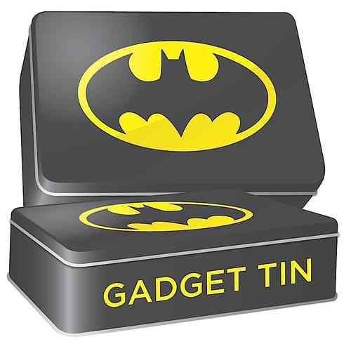 DC Comics BATMAN GADGET TIN Metalldose