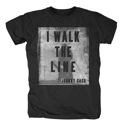 original Johnny Cash WALK THE LINE Herren T-Shirt