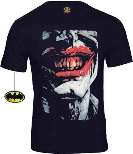 original DC Comics Batman Herren T-Shirt JOKER UGLY SMILE