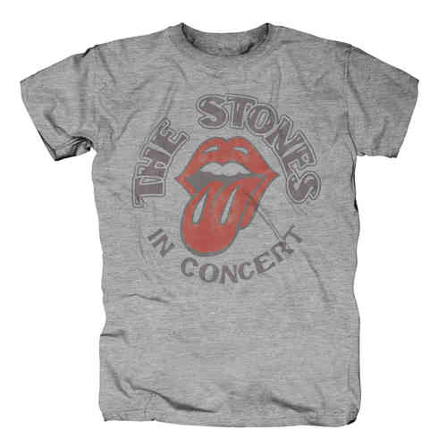 Rolling Stones Herren T-Shirt THE STONES IN CONCERT