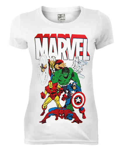 original Marvel Comics MARVEL ALLSTARS Girl T-Shirt