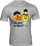 Sesam Street HAVING FUN WITH ERNIE & BERT Herren T-Shirt