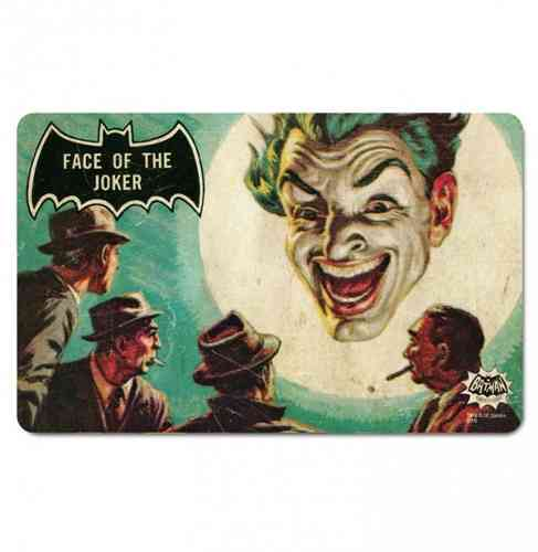 DC Comics BATMAN Frühstücksbrett FACE OF THE JOKER