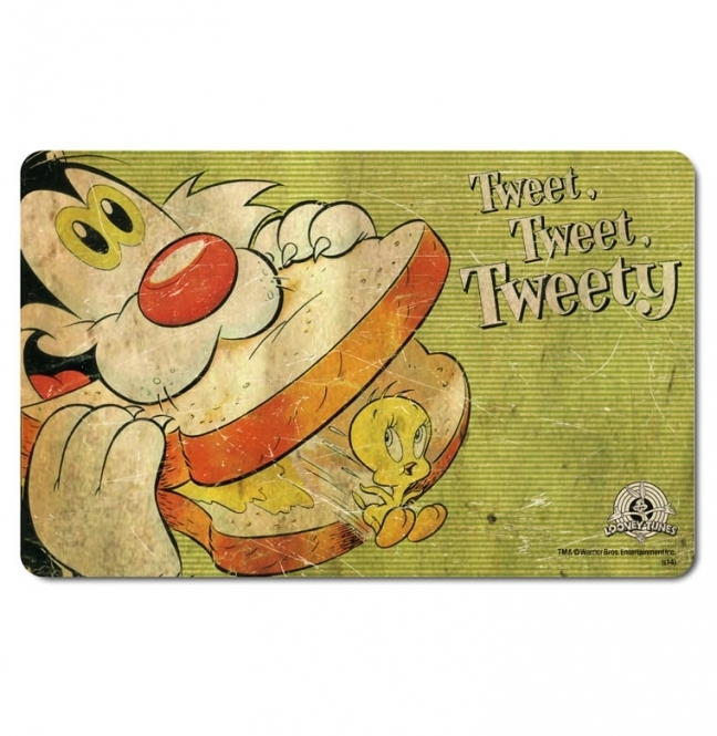 Sylvester Frühstücksbretter Bugs Bunny Tweety Looney Tunes