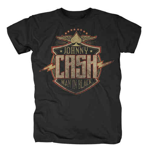 original JOHNNY CASH Männer T-Shirt BOLT