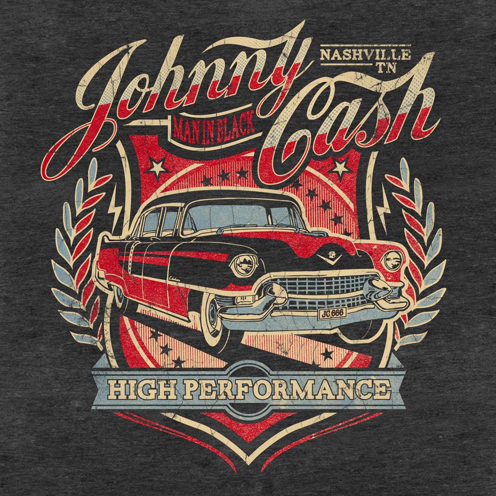 206f24130a original JOHNNY CASH Herren T-Shirt HIGH PERFORMANCE bestellen