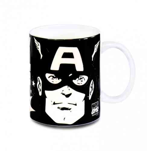 Marvel Comics CAPTAIN AMERICA Tasse Kaffeebecher THE FACE