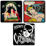 DC Comics Catwoman Wonder Woman Untersetzer Set 3tlg