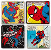 Marvel Comics Spider Man Untersetzer Set 4 tlg