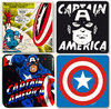 Marvel Comics CAPTAIN AMERICA Untersetzer Set 4 tlg