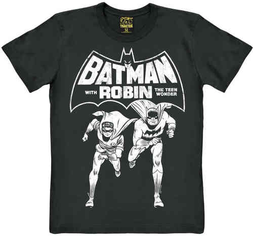 BATMAN AND ROBIN Männer T-Shirt THE TEEN WO