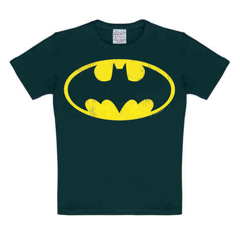 DC Comics BATMAN LOGO Jungen Kinder T-Shirt