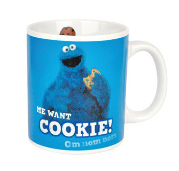 1bee41ef2a Cookie Monster Tasse Kaffeetasse Me Want Cookie kaufen