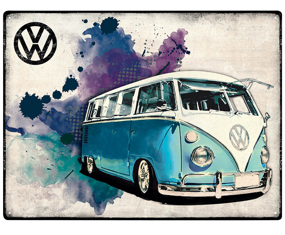wandtattoo vw bus bulli reuniecollegenoetsele. Black Bedroom Furniture Sets. Home Design Ideas