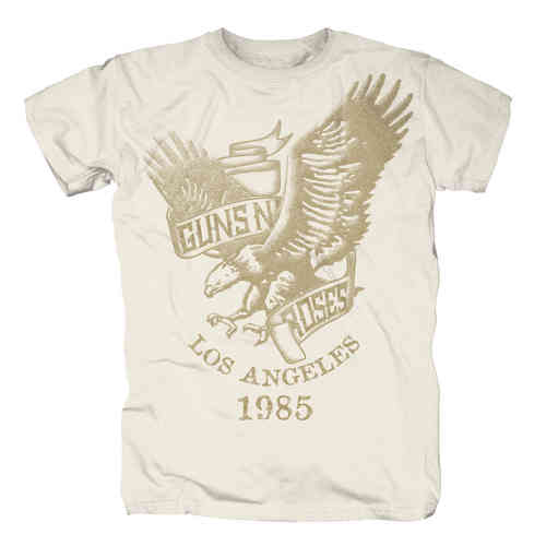 original GUNS N ROSES Herren T-Shirt Eagle LA