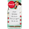 Retro COCA COLA Notizblock DINER LADY