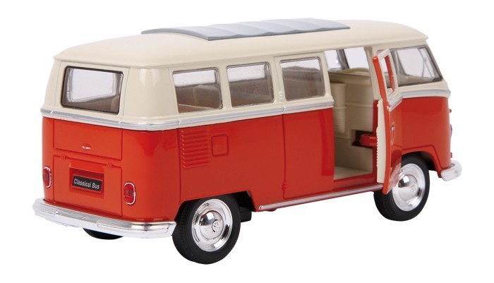 vw bulli t1 samba bus classic modellauto rot kaufen. Black Bedroom Furniture Sets. Home Design Ideas