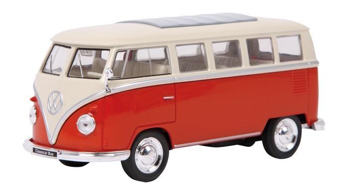 vw bulli t1 samba bus classic modellauto rot kaufen. Black Bedroom Furniture Sets. Home Design Ideas