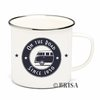 Retro VW Bus Emaille Tasse Kaffeetasse On The Road