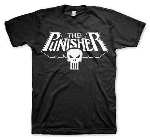 Marvel Comics The Punisher Herren T-Shirt Logo