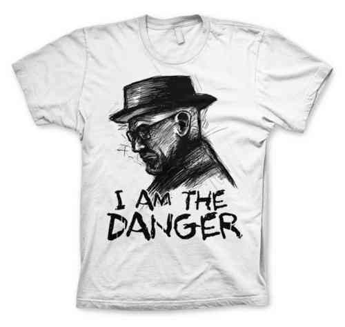 Breaking Bad Heisenberg Herren T-Shirt I AM The Danger