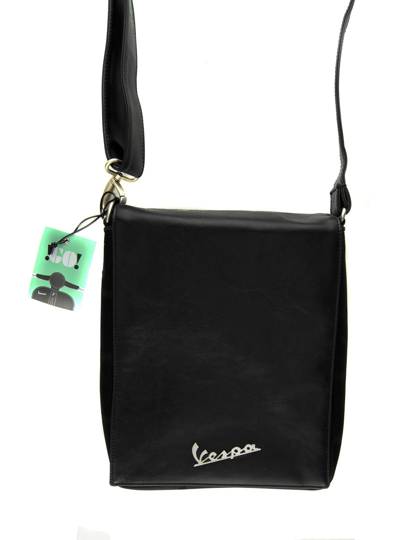 vespa vintage tasche inkl tablet softcase schwarz bestellen. Black Bedroom Furniture Sets. Home Design Ideas