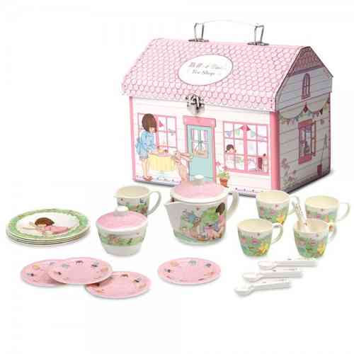 Belle & Boo Melamin Kinder Geschirr Set