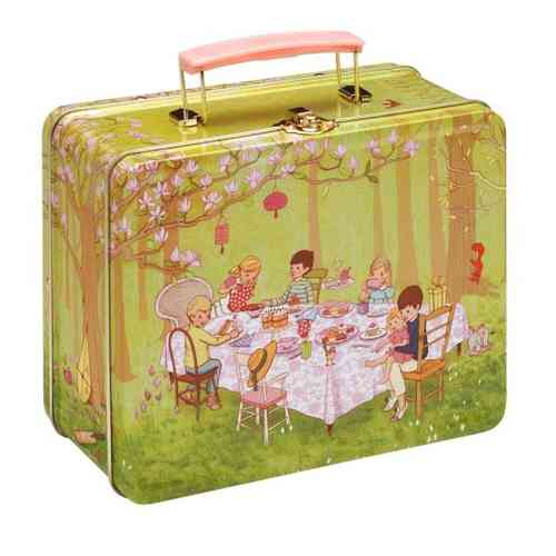 Belle & Boo Lunchbox Blechdose Koffer Ava´s Tea Party