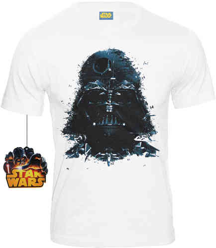 Star Wars Darth Vader Herren T-Shirt RECOMPOSED CODI