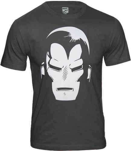 Marvel Comics Iron Man Herren T-Shirt Helmet