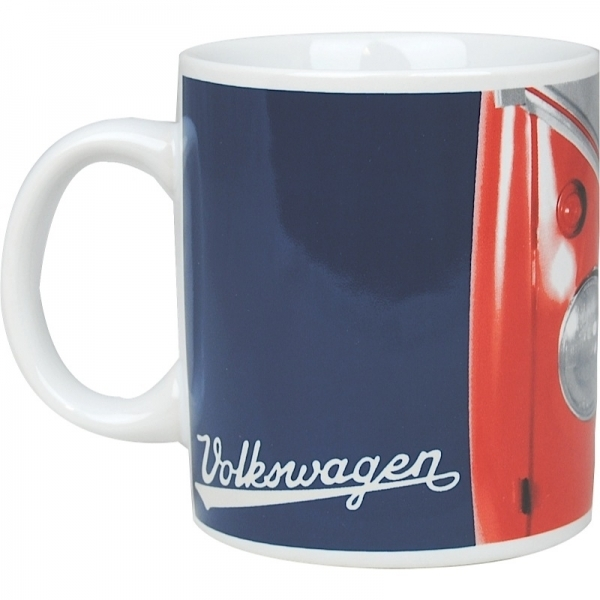 vw bus tasse kaffeetasse bulli 1962 rot bestellen. Black Bedroom Furniture Sets. Home Design Ideas